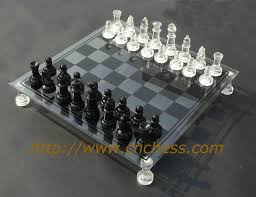 glass chess boards