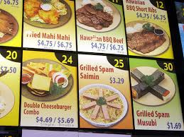 asian food menus