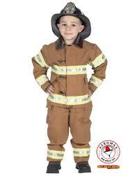 child firefighter costume