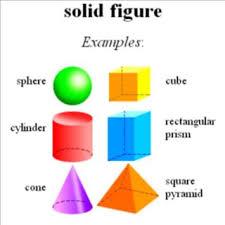geometric solid figures