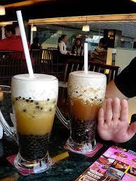 bubble tea drinks