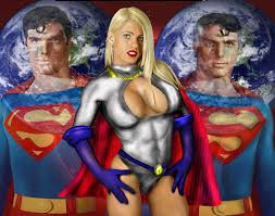 power girl wallpaper