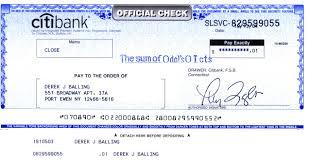 huge check