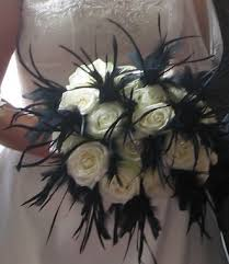 black flower bouquets