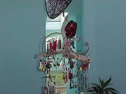 glass bottle wind chimes