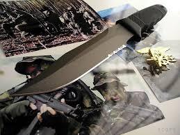 navy knife