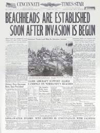 d day newspapers