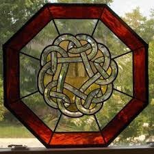 celtic stain glass
