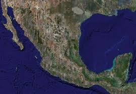 mexico satellite view