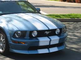 mustang racing stripes