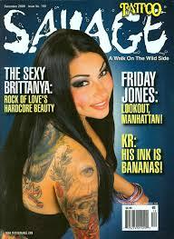 savage tattoo magazines