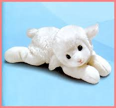 lamb stuffed toy