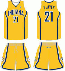 indiana pacers uniform