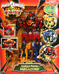 power rangers jungle fury megazord toy