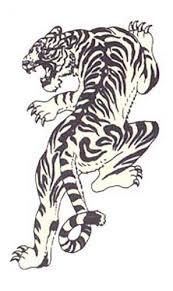 japan tiger tattoo