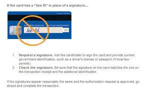 sign credit cards