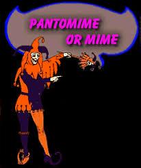 pantomime mime