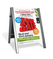 sales leaflets
