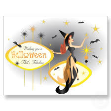 halloween post card
