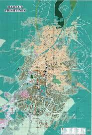 map of prishtina