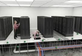 data center raised flooring