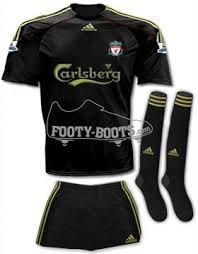 liverpool away kit 2010