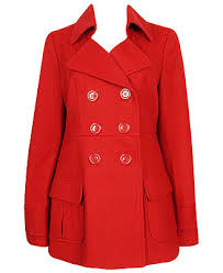 red peacoats