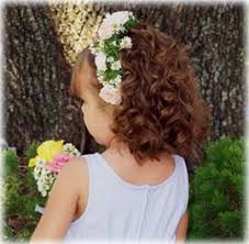 flower girl hair styles