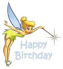 birthday tinkerbell