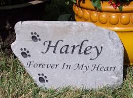 dog grave markers