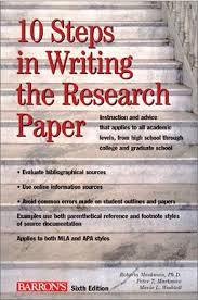 research paper form