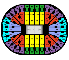 gund arena seating chart