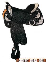 black show saddle