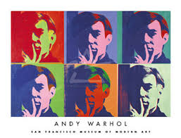 andy warhol style portraits