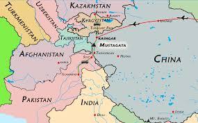 karakoram maps