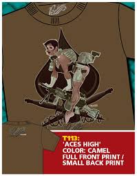 aces high t shirt