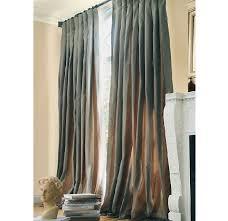 inverted pleat curtain