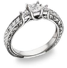 victorian style engagement rings
