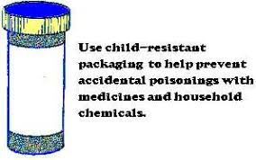 child resistant packaging
