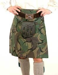 camouflage kilts