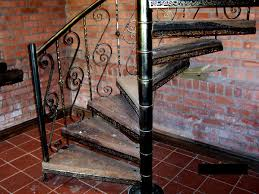 iron spiral staircases