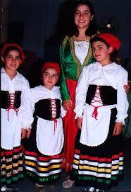 traje tipico de italia