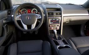 g8 gxp interior