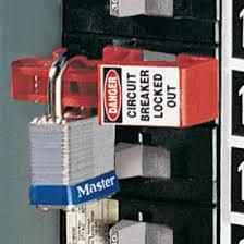 breaker lock out
