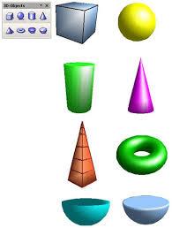 3d geometric figures