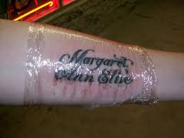 french writing tattoos