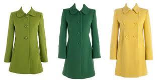 green winter coat