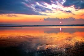 pictures of beach sunsets