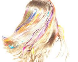 colored streaks