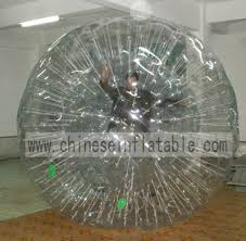 inflatable roller ball